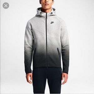Nike Tech Fleece Windrunner Grey Heather Fade XL